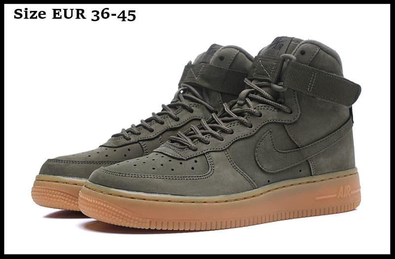 Nike Air Force 1 High Medium Olive Green
